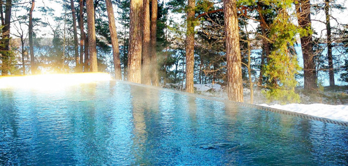 SPA poolen på Bluehotel