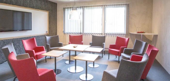 Konferensrum på Bluehotel